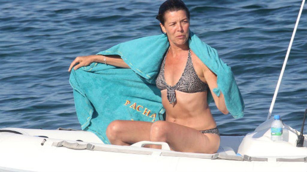 La Princesa Carolina de Mónaco... clase y figura