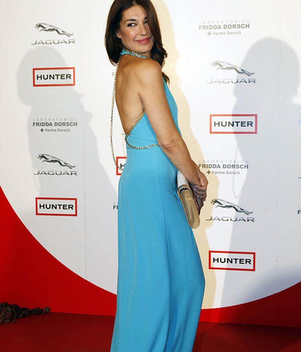La ex Miss España Raquel Revuelta lució escote en la espalda