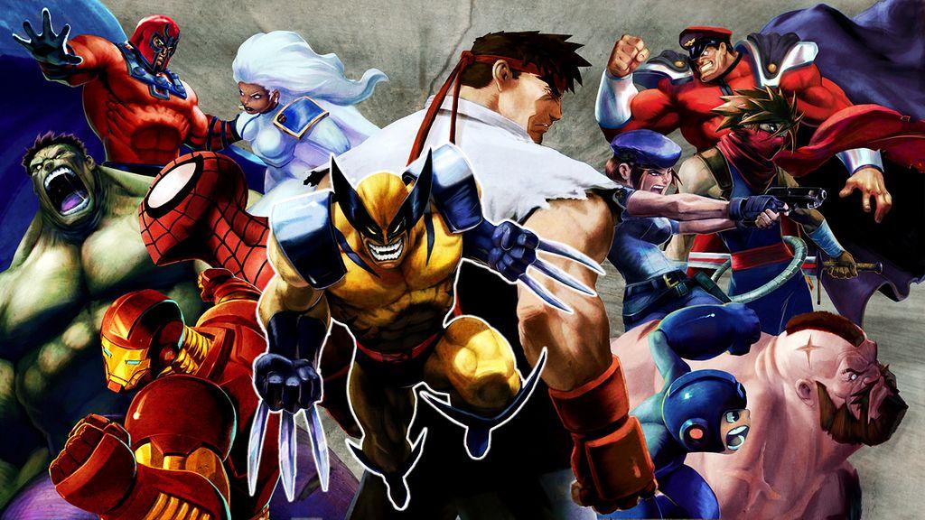 Videojuego y cómic se hacen uno en la original saga Marvel vs. Capcom