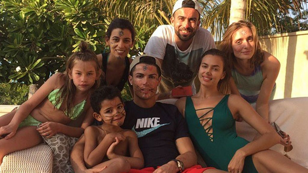 Cristiano Ronaldo, de vacaciones