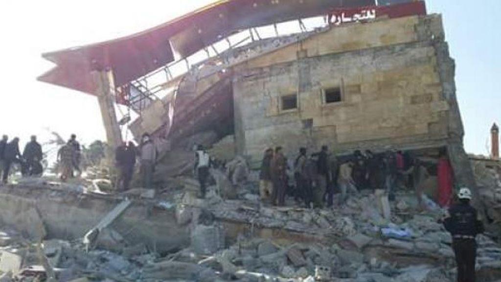 El hospital de MSF atacado en Idlib