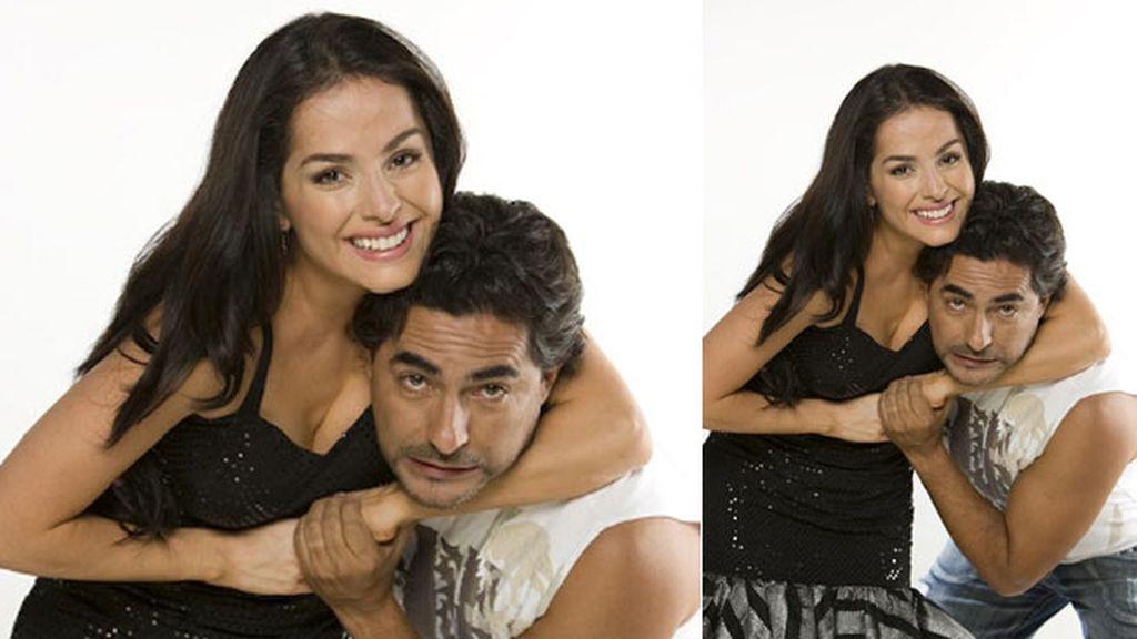 Raúl Araiza, encantado con Danna García