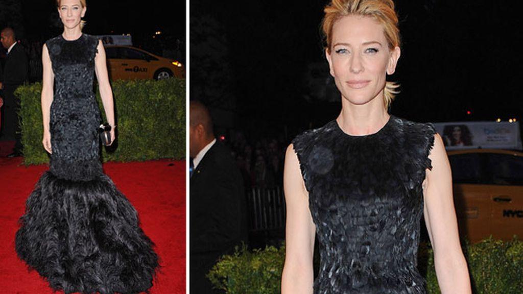 Cate Blanchett de Alexander McQueen