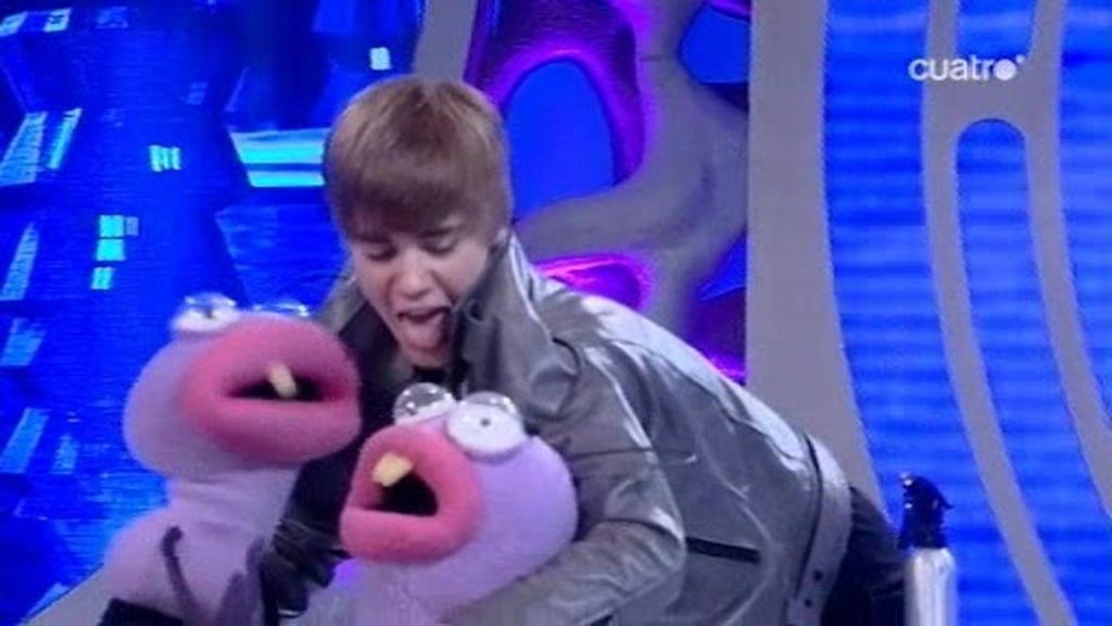 Justin Bieber flipa con la magia del Hormiguero