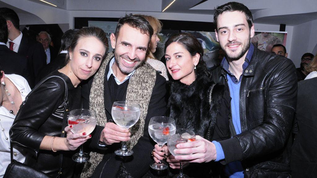 Ana Terradillos, Nacho Corral, Eneida Manzano y Jorge Cordero