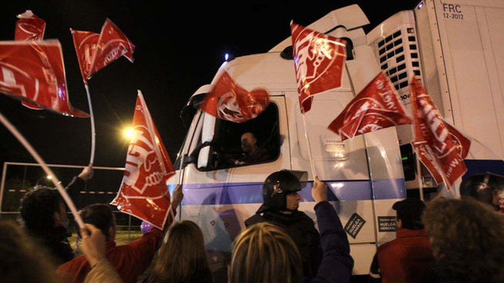 La jornada de huelga general