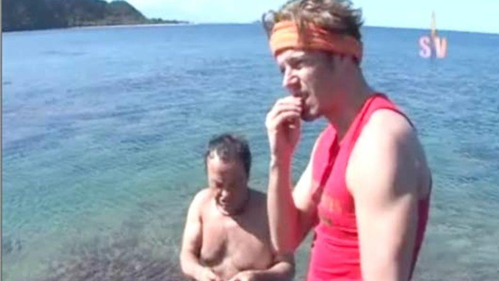 La supervivencia ya ha comenzado en las dos playas