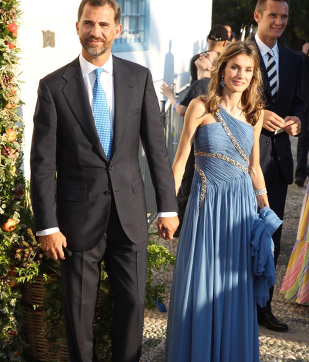 Boda de Nicolás de Grecia y Tatiana Blatnik (agosto de 2010)