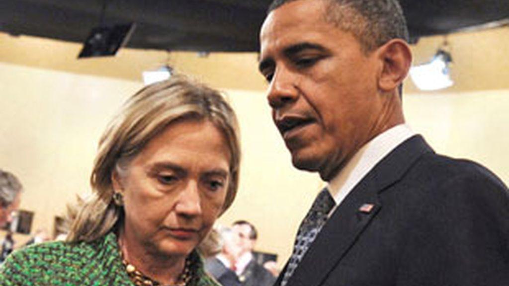 """El Gobierno estadounidense """"condena"""" la filtración de cerca de 250.000 cables diplomáticos de embajadas y misiones estadounidenses. FOTO: EFE"""