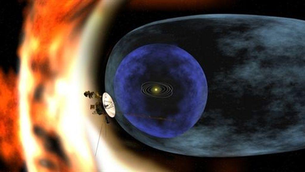 La nave espacial Voyager-1 abandona el Sistema Solar