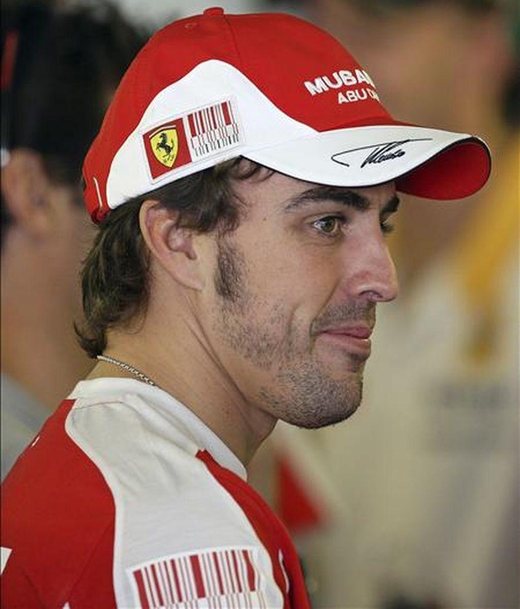 El piloto español de Ferrari, Fernando Alonso. EFE/Archivo