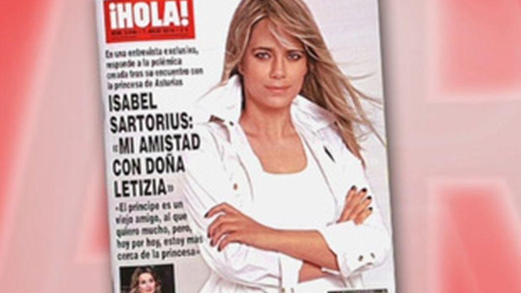 Entrevista exclusiva de 'Hola' a Isabel Sartorius.