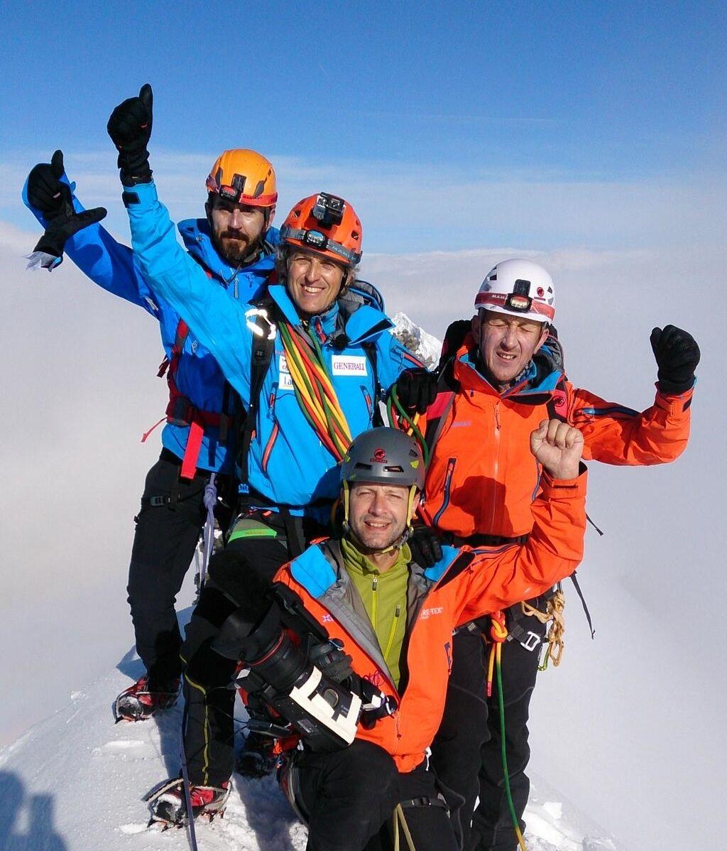 """Santi Millán: """"¡Llegar a la cima del Monte Cervino es espectacular!"""""""