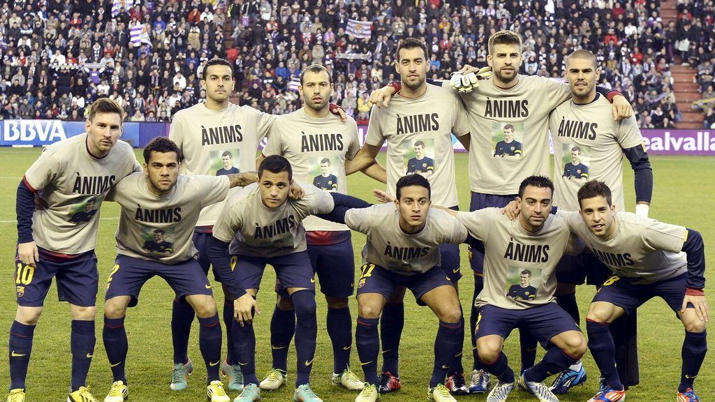 Barcelona ánimos Tito Vilanova