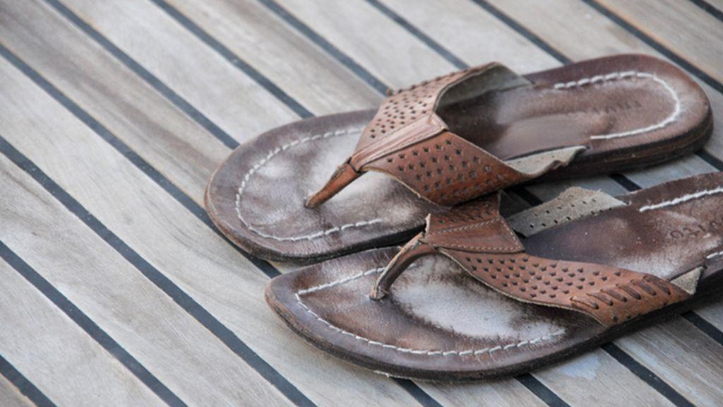 Las chanclas pueden generar lesiones en los pies