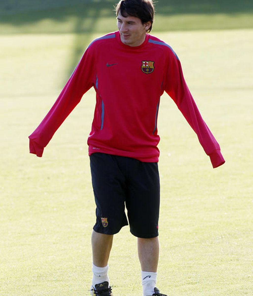 Leo Messi viajó a Kazán sin el alta médica