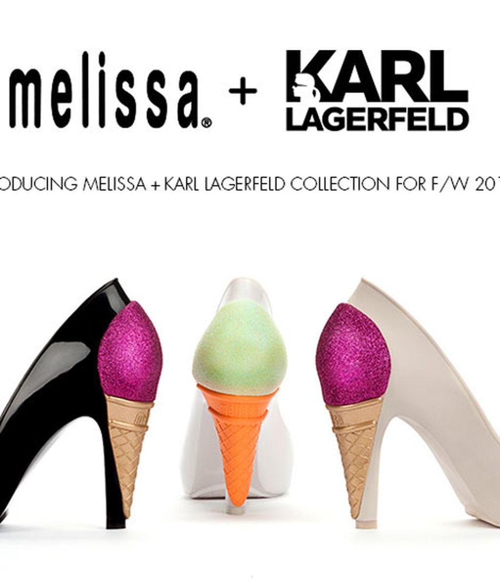 Melissa y Lagerfeld, la combinación perfecta