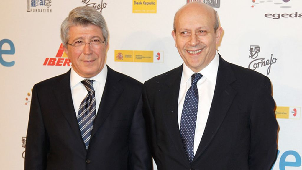 El ministro Wert y Enrique Cerezo acudieron a la gala, celebrada en los Teatros del Canal de Madrid