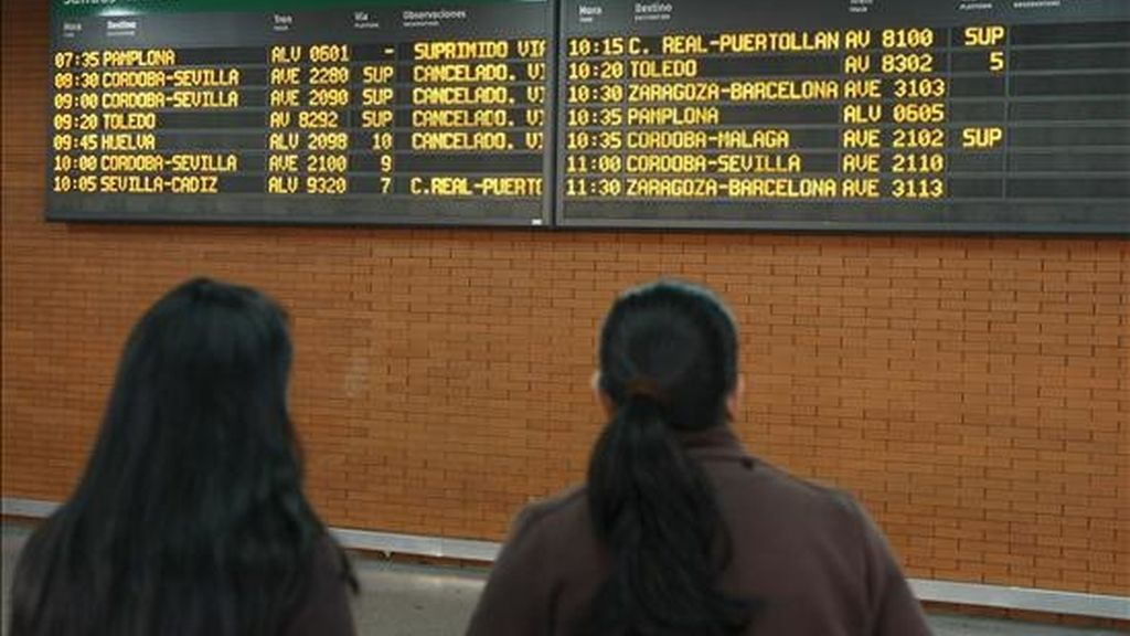 """El sector ferroviario de la Federación de Servicios a la Ciudadanía de CC.OO. considera que el plan de """"segregación y privatización"""" perjudica a los trabajadores."""