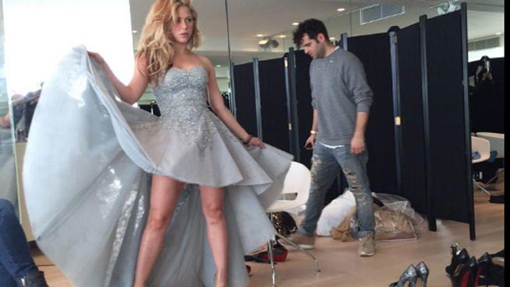 Shakira tras dar a luz a su segundo hijo