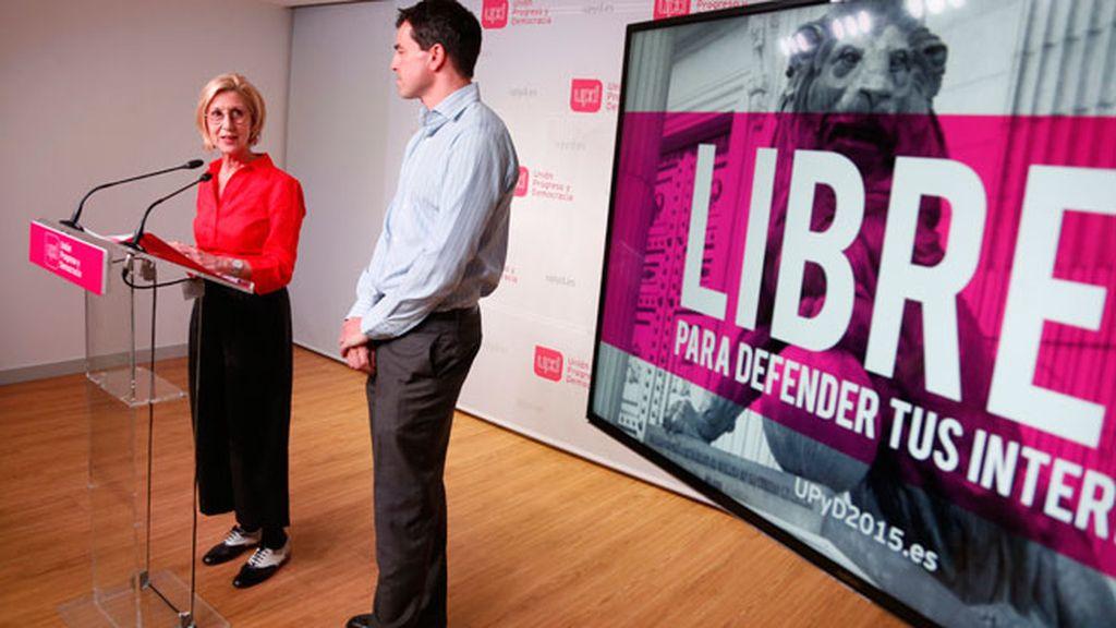 UPyD presenta su nuevo lema de cara a las próximas elecciones
