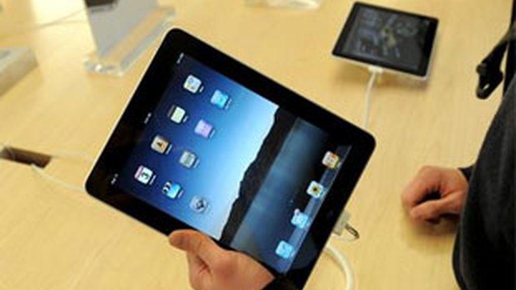 El iPad sale a la venta en España. Foto: EFE,