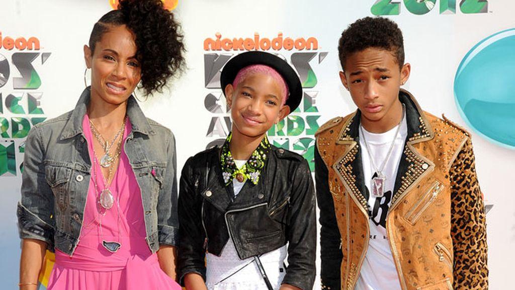 Willow, y Jaden, los hijos de Will Smith y Jada Pinkett