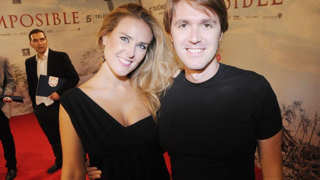 Manuel Velasco y su novia Rocío