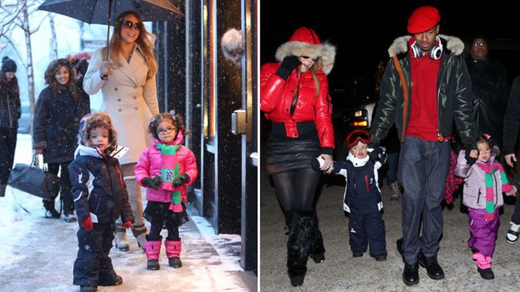 Mariah Carey fue madre de mellizos a los 42 años