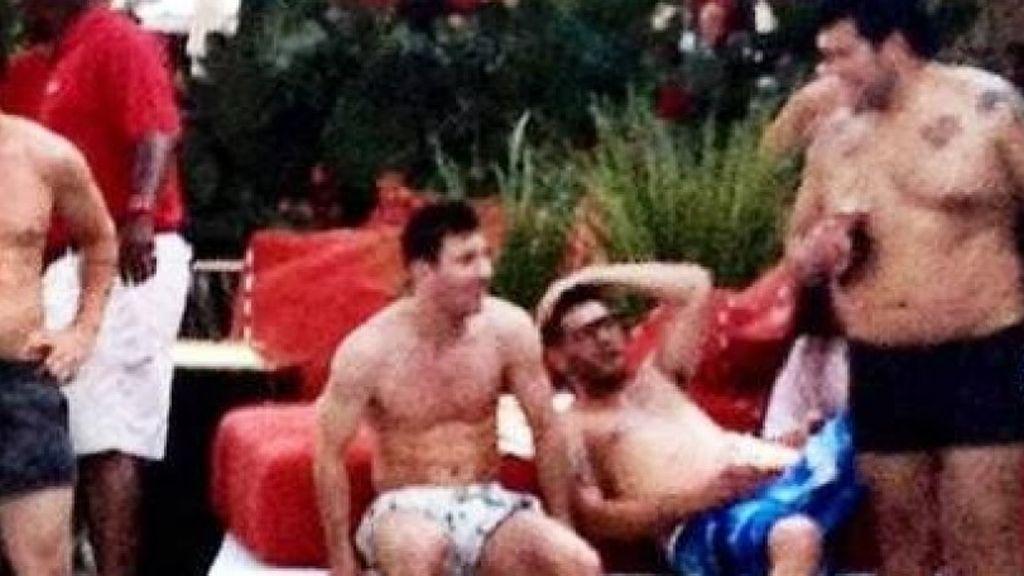 La fiesta VIP de Ronaldo, el fenómeno