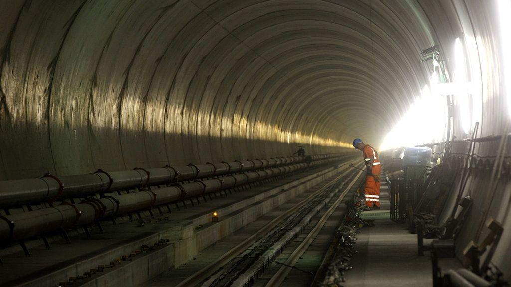 El tunel más largo del mundo