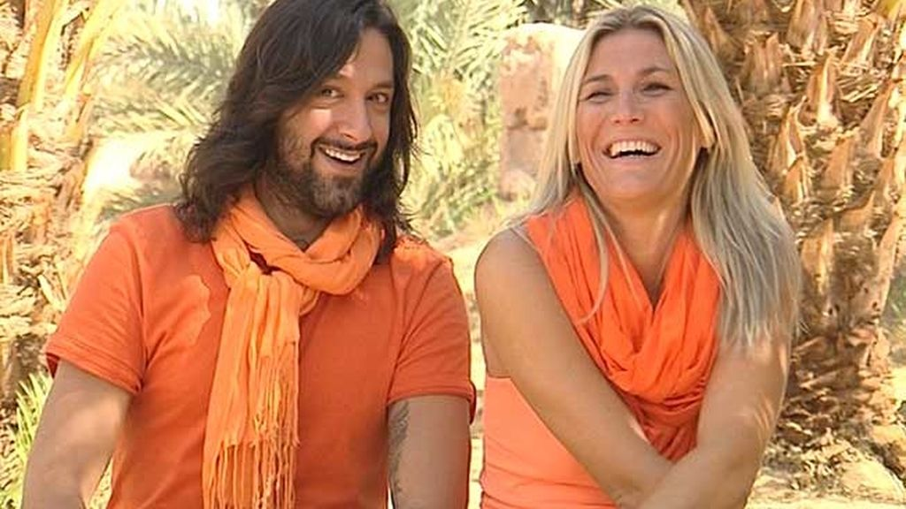 Rafael Amargo y Yolanda Jiménez