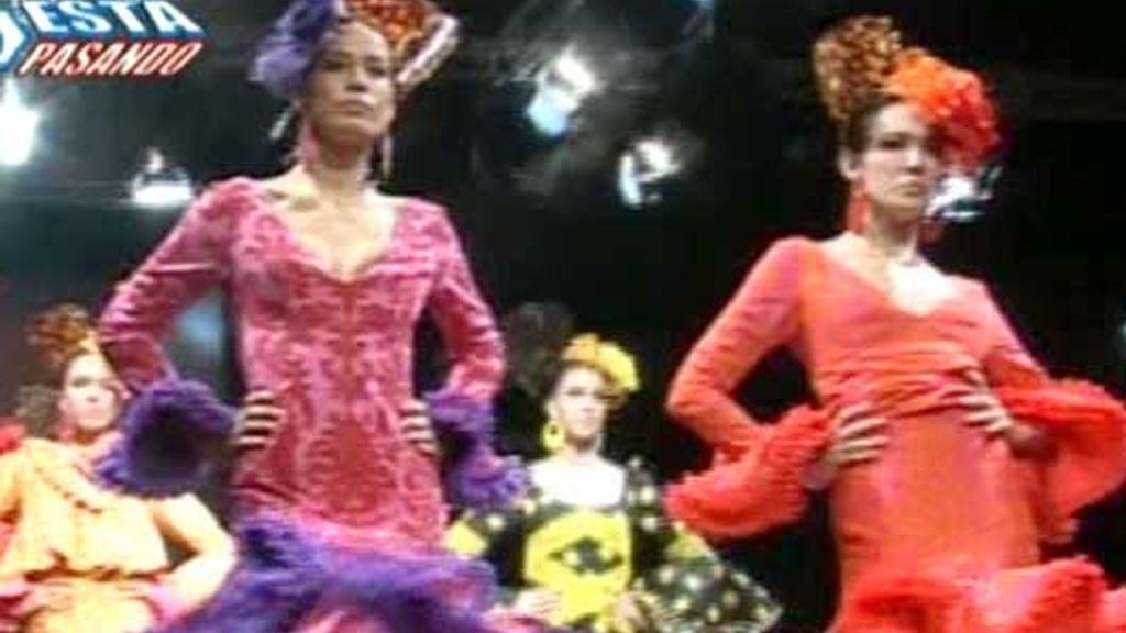 La 'Cibeles' de la moda flamenca