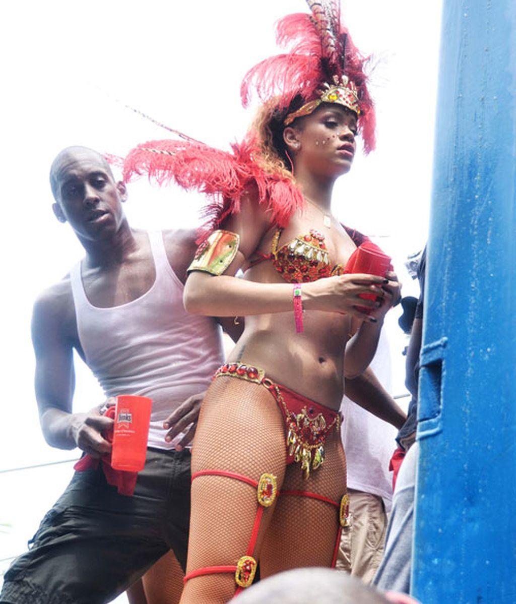 Rihanna lo da todo en Barbados