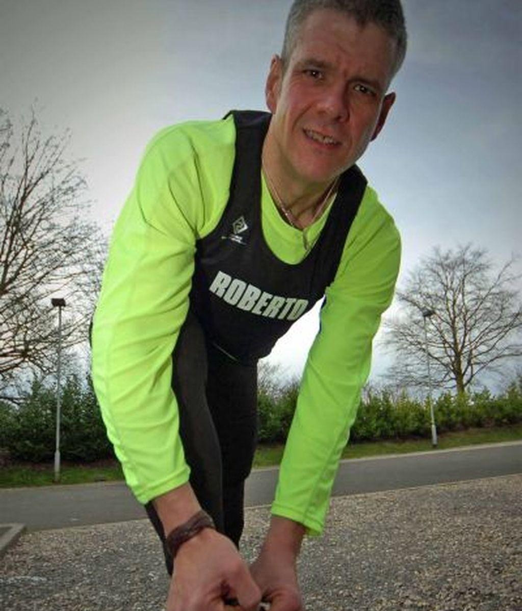 159 kilos menos para correr la maratón de Londres
