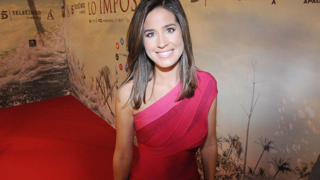 Isabel Jiménez, una de las más espectaculares caras de Informativos Telecinco