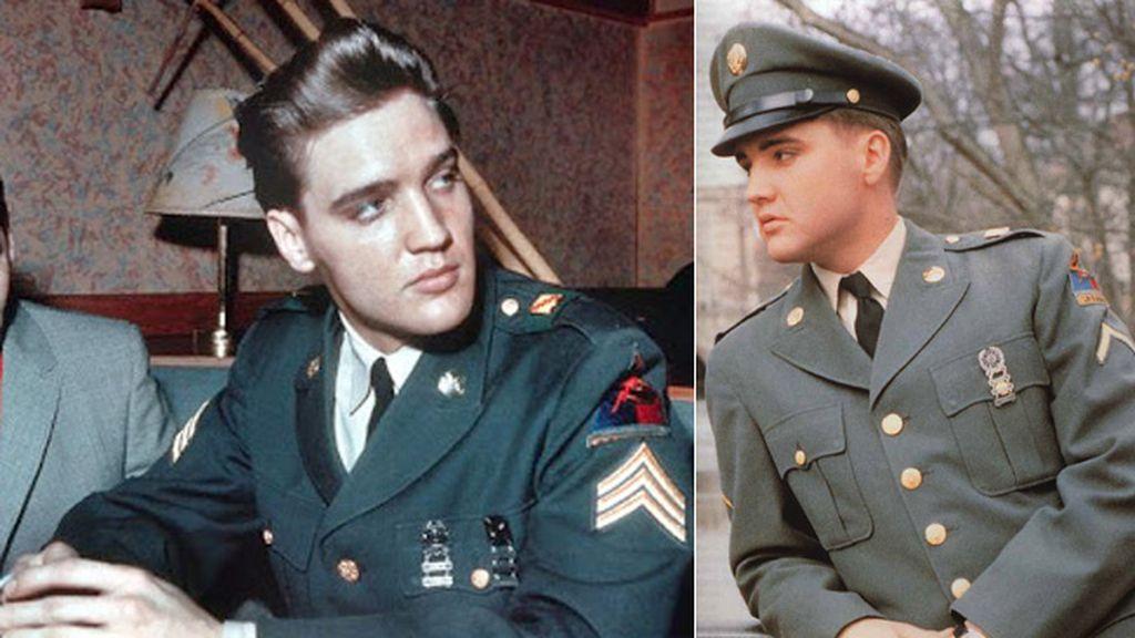 Elvis Presley, el 'Rey' del ejército