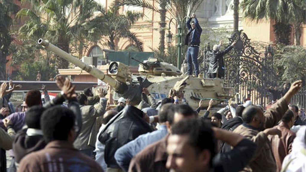 LUCHA ENTRE LOS 'DOS EGIPTOS'