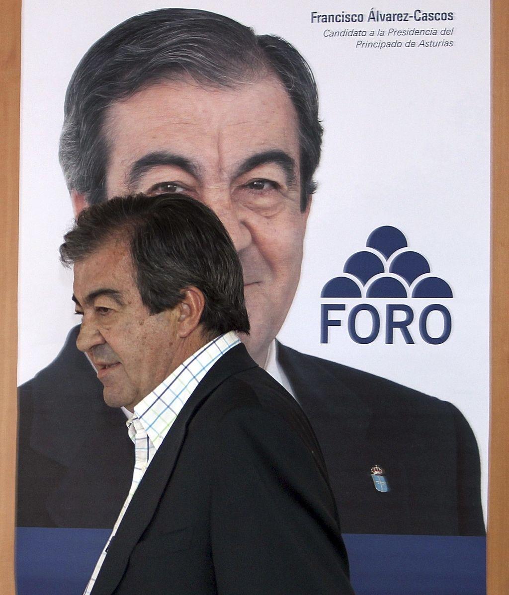El presidente de Foro, Francisco Álvarez Cascos