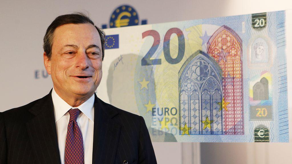 El nuevo billete de 20 euros comenzará a circular el 25 de noviembre