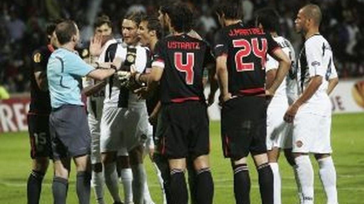 El Athletic sumó un punto en Portugal. Foto: EFE