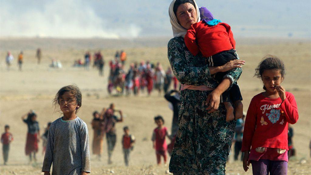 La guerra civil en Siria ha causado miles de refugiados