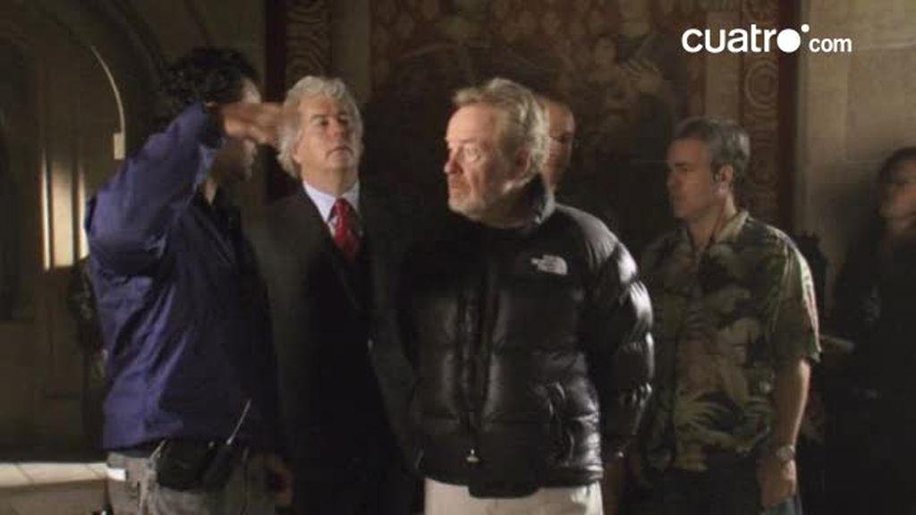 Primeras impresiones de Ridley Scott y Ken Follet