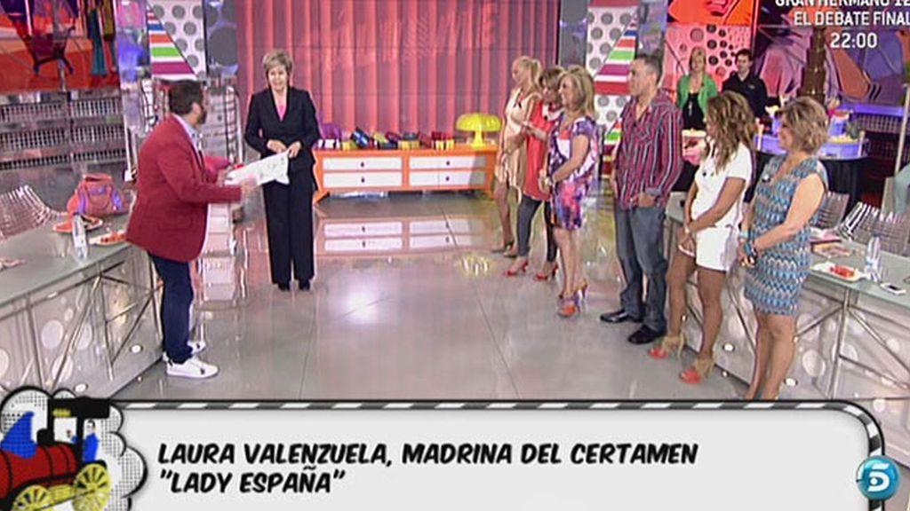 Laura Valenzuela, madrina del certamen