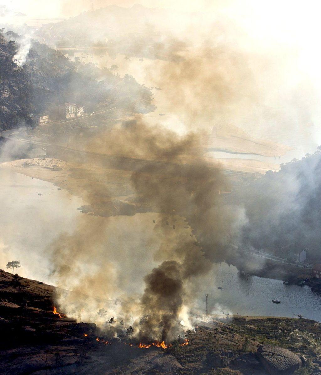 Incendio en O Ézaro