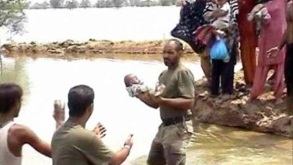 Más de 1.500 muertos en las inundaciones de Pakistán