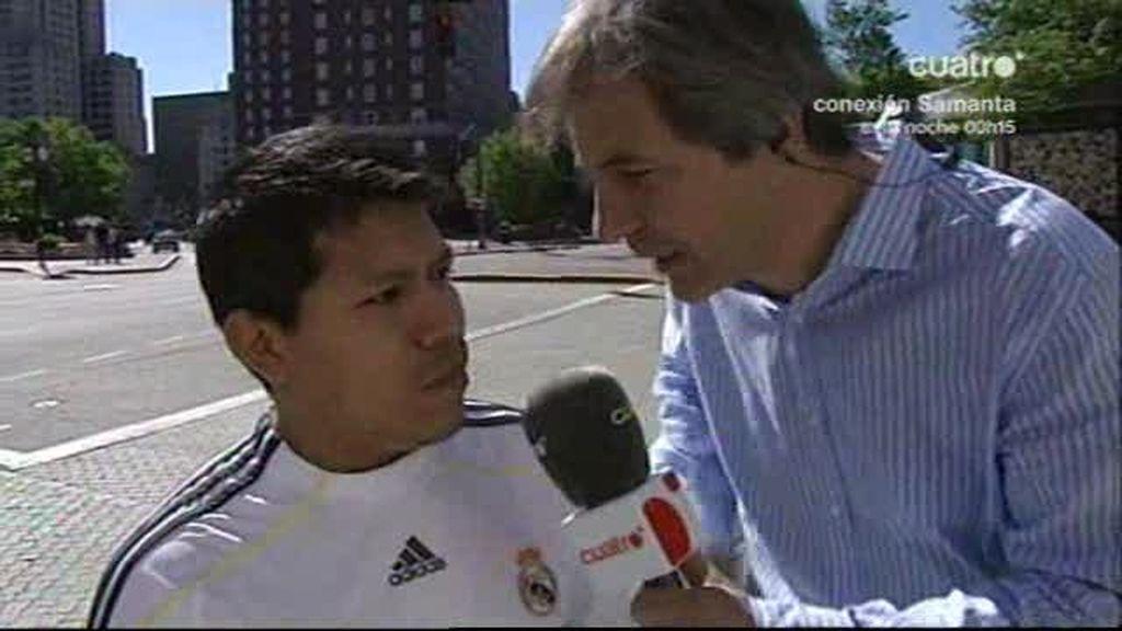 Bautiza a su hijo Cristiano Ronaldo