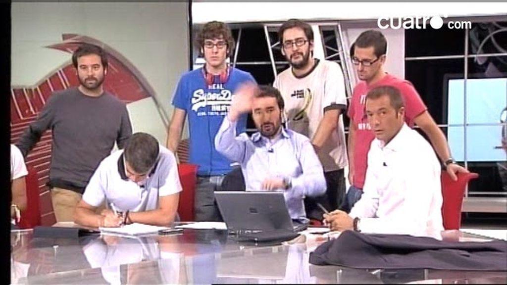 Videochat Los Manolos 27 de septiembre 2010 (1 de 4)