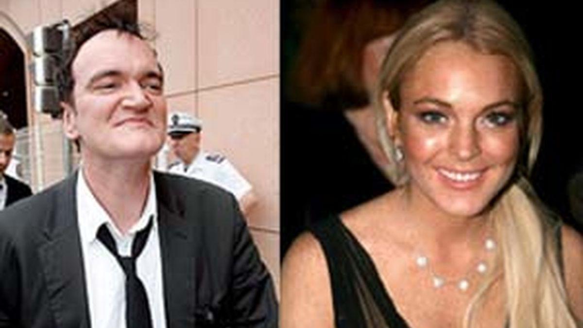 El director Quentin Tarantino quiere contar con la polémica Lindsay Lohan para su próxima película.