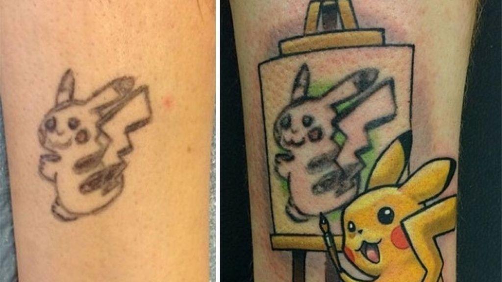 Pikachu se ha convertido en todo un artista